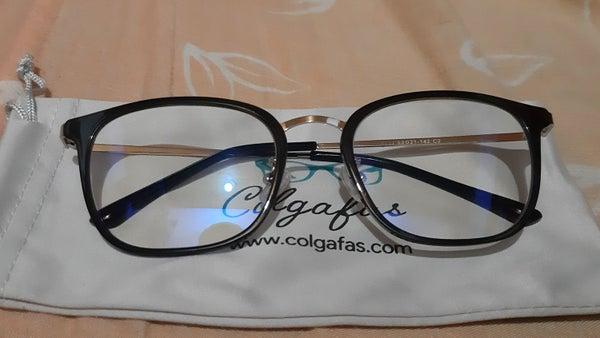 Foto de gafas compradas en Colgafas